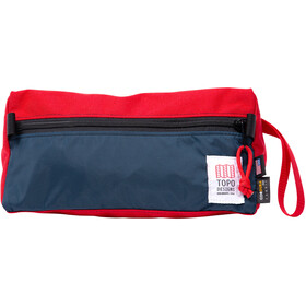 Topo Designs Dopp Kit red/navy
